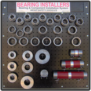 EZ-Driver� Bearing Installer Kit With Peg Board
